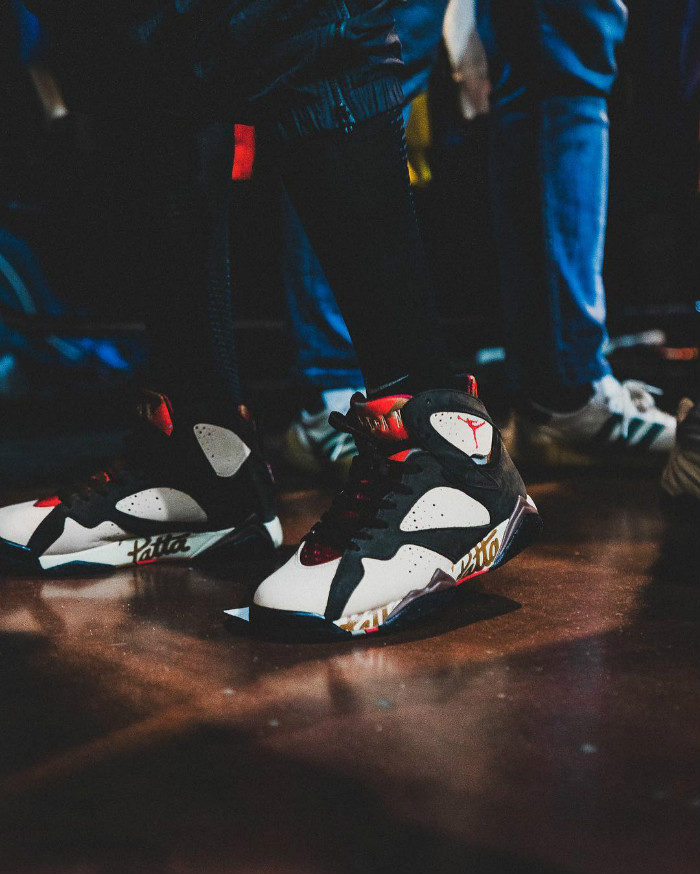 Patta,AJ7,Air Jordan 7 OG SP,A  市价破 4K!内马尔上脚 Patta x Air Jordan 7 全新联名!
