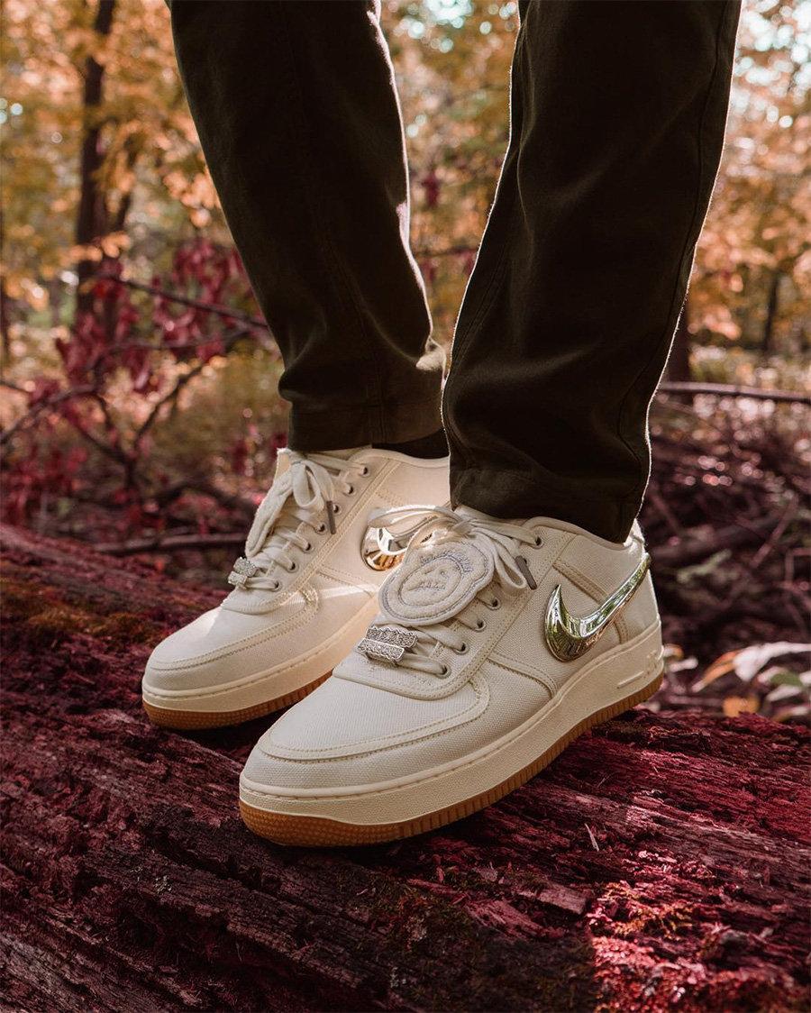 CD4487-100,AJ1,Air Jordan 1  Travis Scott 简史:从流浪汉到横扫球鞋圈的超级巨星!