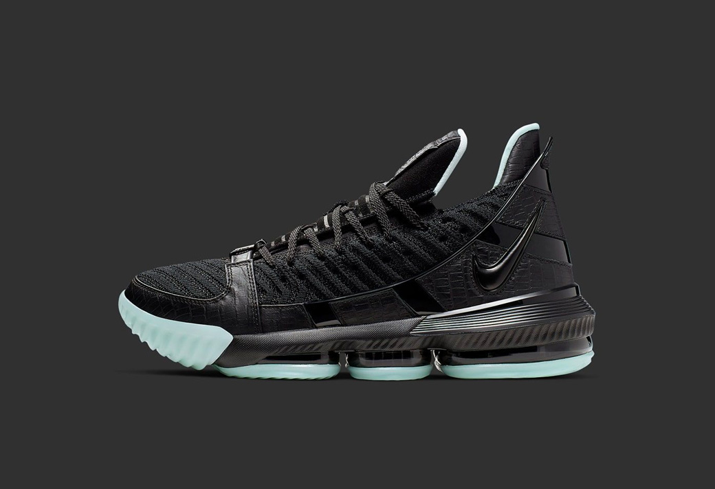 CD2451-001,LeBron 16,Nike CD2451-001 曾经非市售的亲友限定配色!这双 LeBron 16 有点酷!