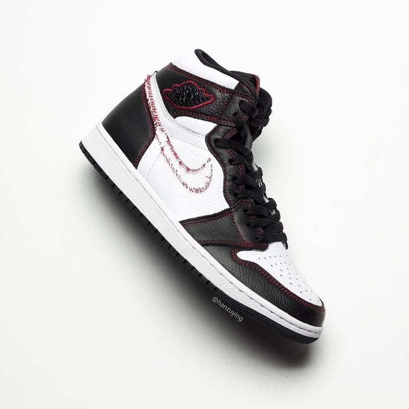 Air Jordan 1,AJ1,Dynamic Yello  年度最怪球鞋!「拆线」Air Jordan 1 再曝新图!
