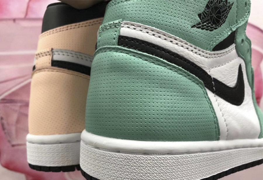 AJ1,Air Jordan 1,555441-889  罕见的官方鸳鸯配色!这双 Air Jordan 1 新品真的不一般!