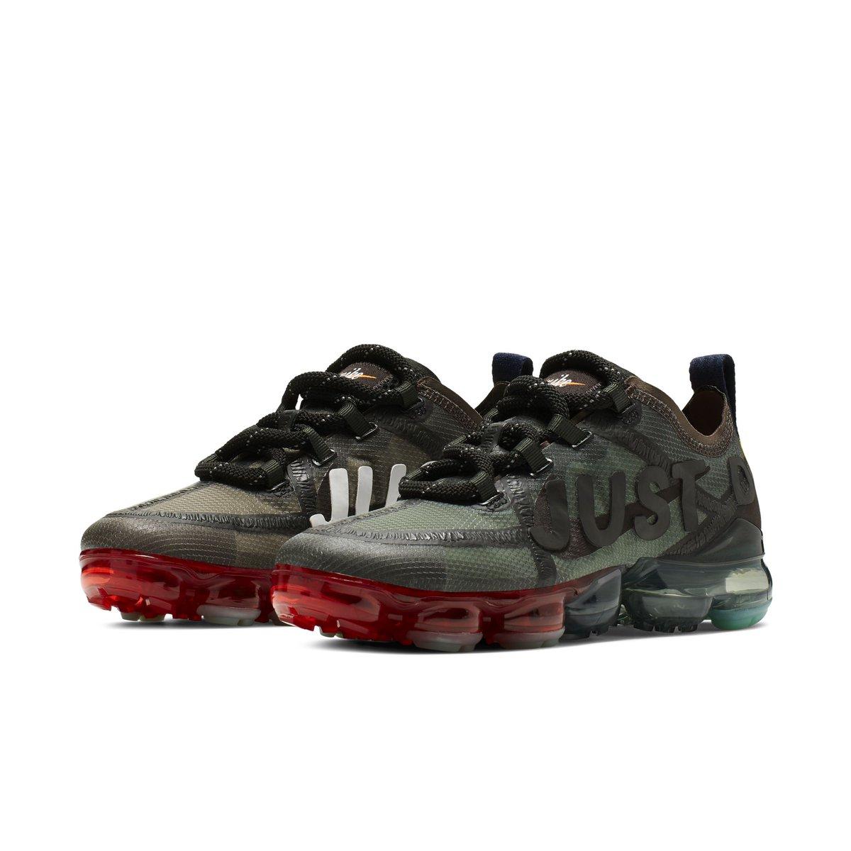 Nike,VaporMax 19,发售,CD7001-200  官网链接来了!神秘鞋款 CPFM x VaporMax 明早发售