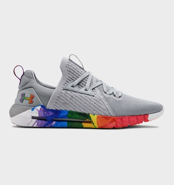 UA,HOVR SLK EVO,发售  亮眼彩虹配色来袭!全新 UA 招牌跑鞋即将发售