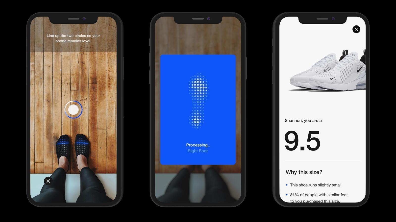 Nike,Nike Fit  帮你买到最合适的球鞋!Nike 的全新技术有点厉害!