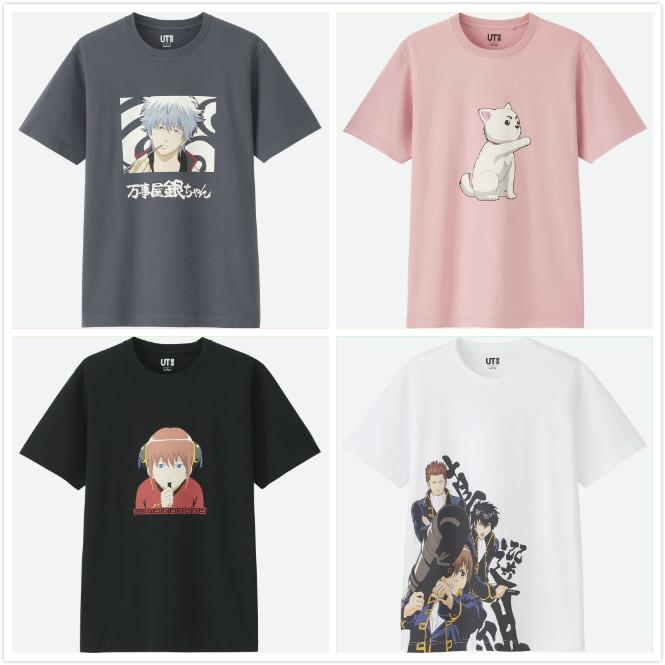 优衣库,UNIQLO,UT,日本动漫  优衣库最抢手的「日漫联名」来了!柯南、银魂、火影每一件都想要