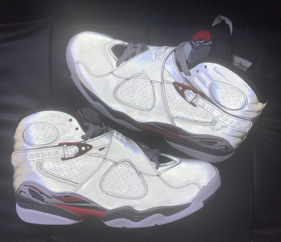 AJ8,Air Jordan 8,CI4073-001,发售  全 3M 反光的兔八哥!全新 Air Jordan 8 下月发售