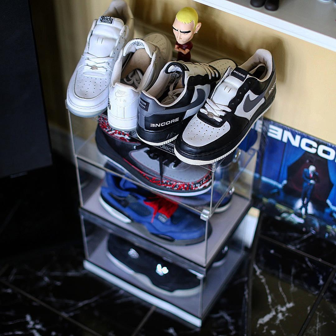 上脚,Air Jordan,Jordan,Nike 全球最强球鞋收藏家之一!一堆十几万的球鞋随便穿!