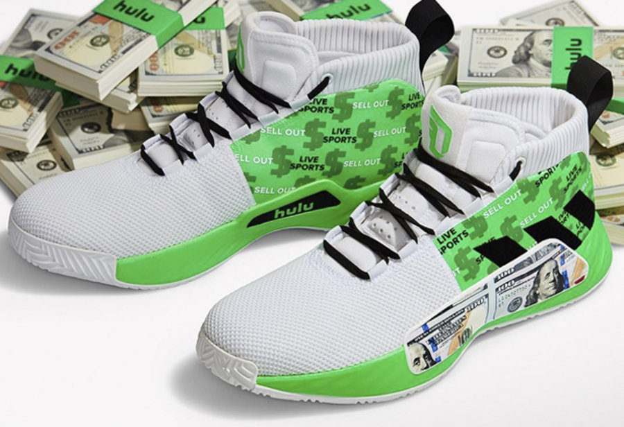 adidas,Dame 5  下轮就穿这双?利拉德晒出 adidas Dame 5 全新配色