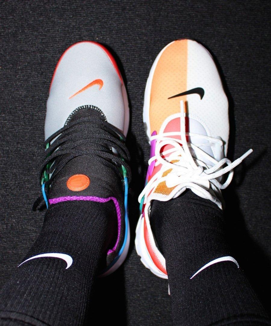 艳丽,吸睛,的,拼接,鞋身,Beams,Nike,最新,联名  个性拼接鞋身!Beams x Nike 最新联名鞋款曝光!