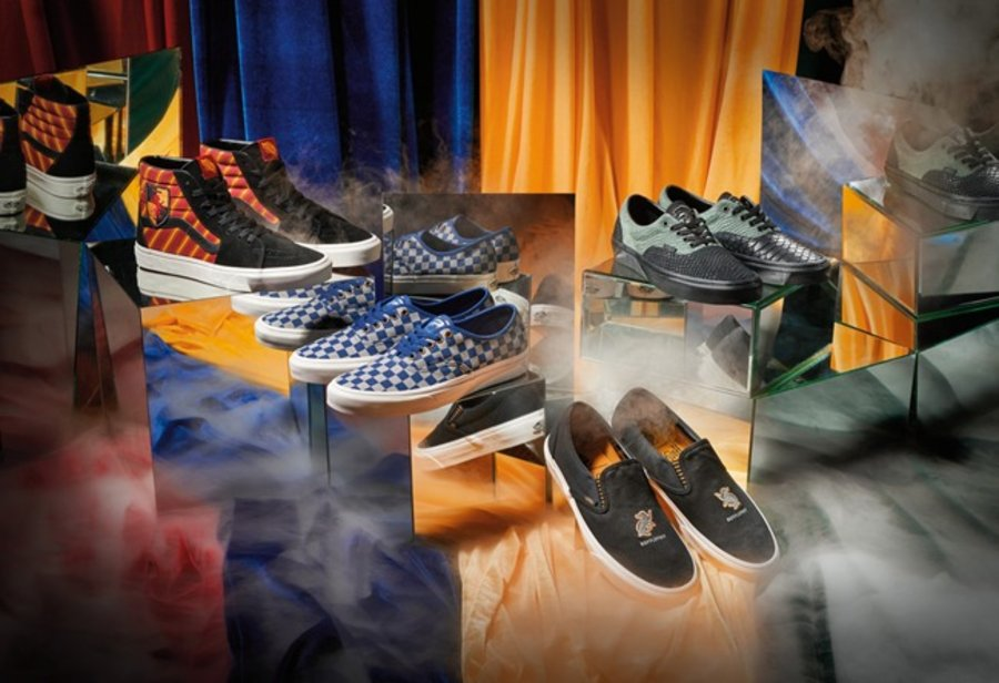 Vans, Sk8-Hi,Era,Authentic,Sli  魔法迷们别错过!哈利波特 x Vans 联名系列即将发售!
