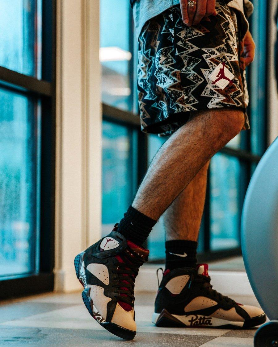 Nike,Patta,Air Jordan 7,发售,AT3  官方型录发布!稀有联名 Air Jordan 7 即将发售!