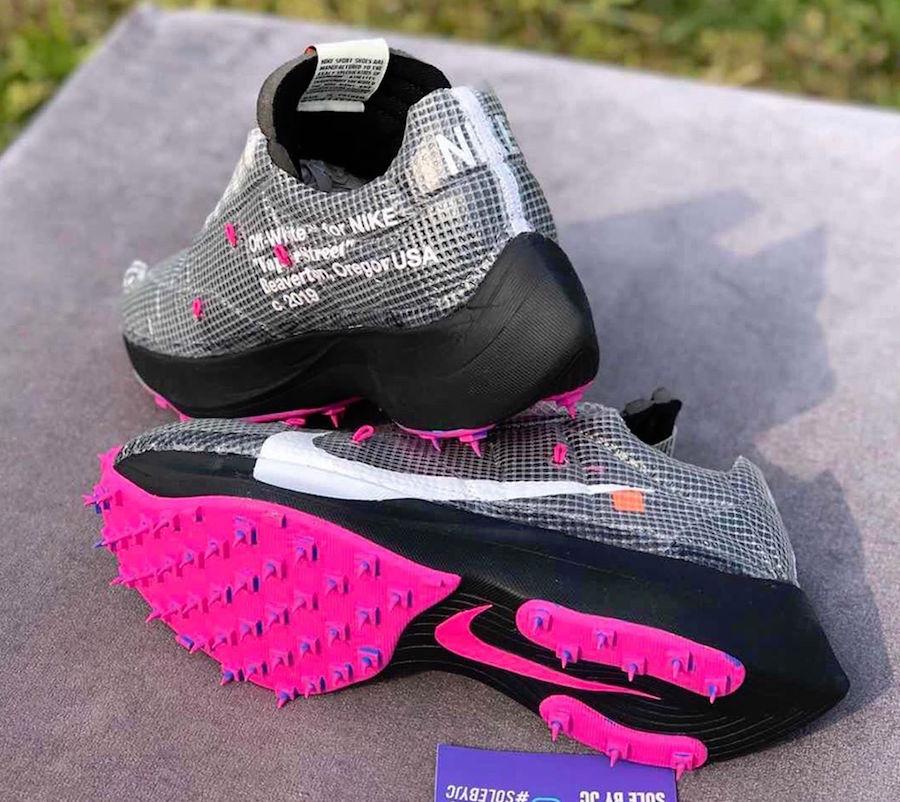 OFF-WHITE,Nike,发售  全新鞋型今夏登场!灰粉 OW x Vapor Street 实物曝光