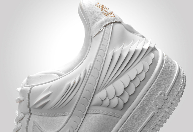 Air Force 1,AF1,The Remade,ACU  真正的「球鞋锦鲤」!这可能是最奢华的定制 Air Force 1!