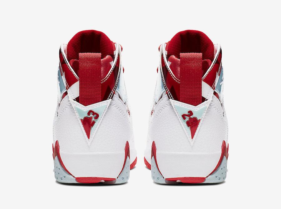 Air Jordan 7,AJ7,Nike,442960-1  独具一格的涂鸦彩绘鞋领!全新配色 Air Jordan 7 官图释出
