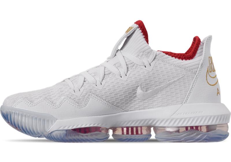 Nike,LeBron 16 Low, CI2668-100  纪念克利夫兰状元签!LeBron 16 Low 全新配色即将发售!