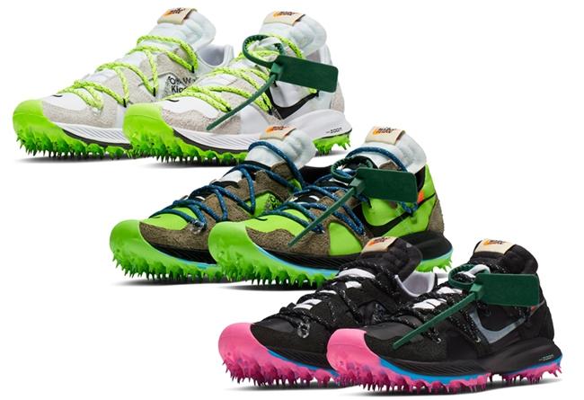 OFF-WHITE,Nike,Zoom Terra,发售,C  田径跑鞋也能解构?全新 Off-White x Zoom Terra 即将发售!