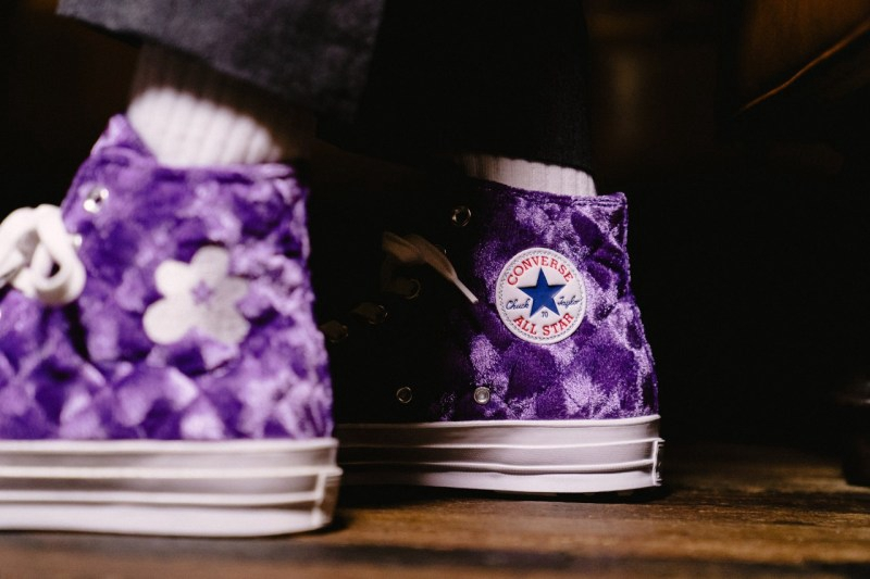 Converse, One Star,Chuck 70  高规格天鹅绒材质!Converse 全新小花联名明日发售!