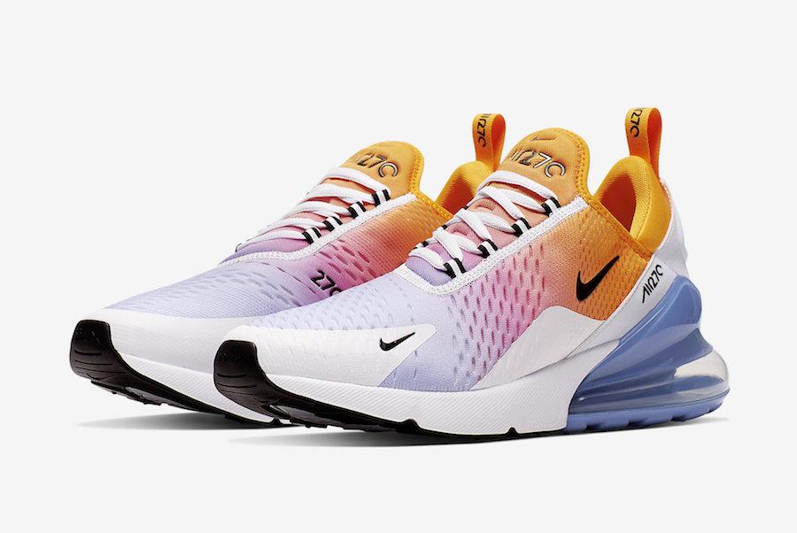 Nike,Air Max 270,发售  清爽渐变设计!全新 Air Max 270 配色即将发售