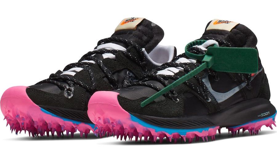 Nike,OFF-WHITE,发售  田径跑鞋也能解构?全新 OFF-WHITE x Zoom Terra 即将发售!