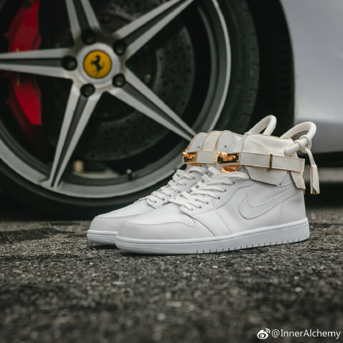 球鞋定制,Air Jordan 1,AJ1,Air Forc  脑洞很大,规格颇高!这位定制大神的球鞋真的不一般!