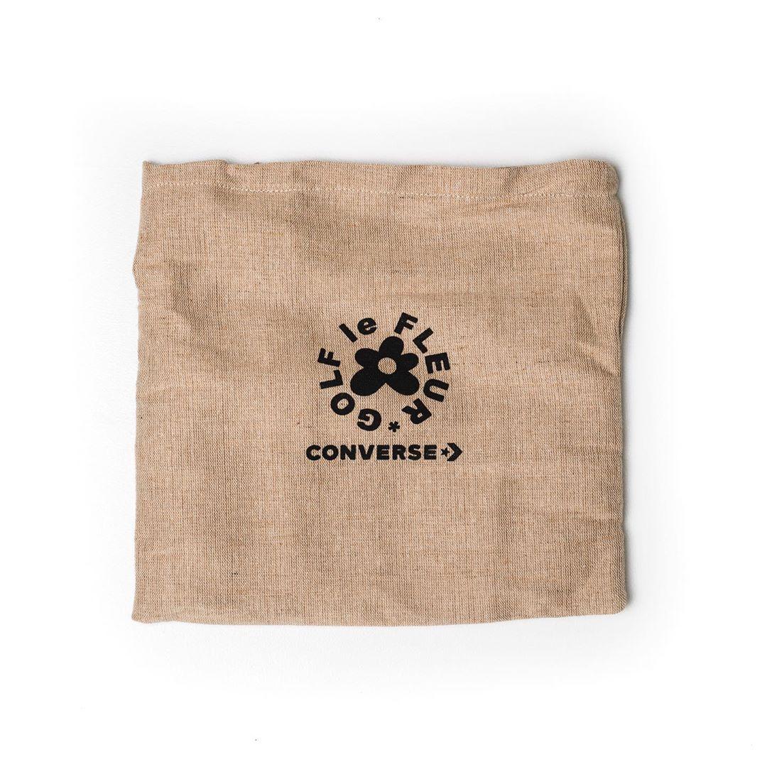 Converse,GOLF le FLEUR*, 开箱  略高于原价!天鹅绒 Converse 小花联名颜值真的高