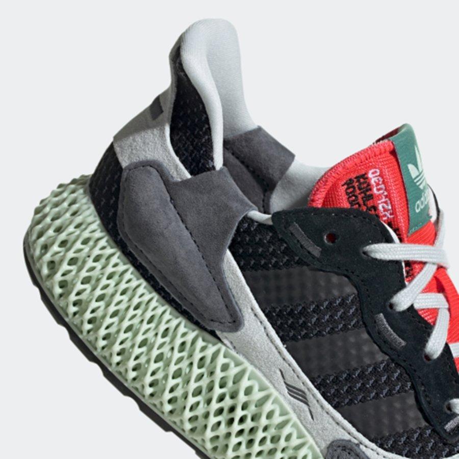 adidas,ZX4000 4D,BD7931,发售  预售价近 4000!adidas ZX 4000 4D 周末发售!