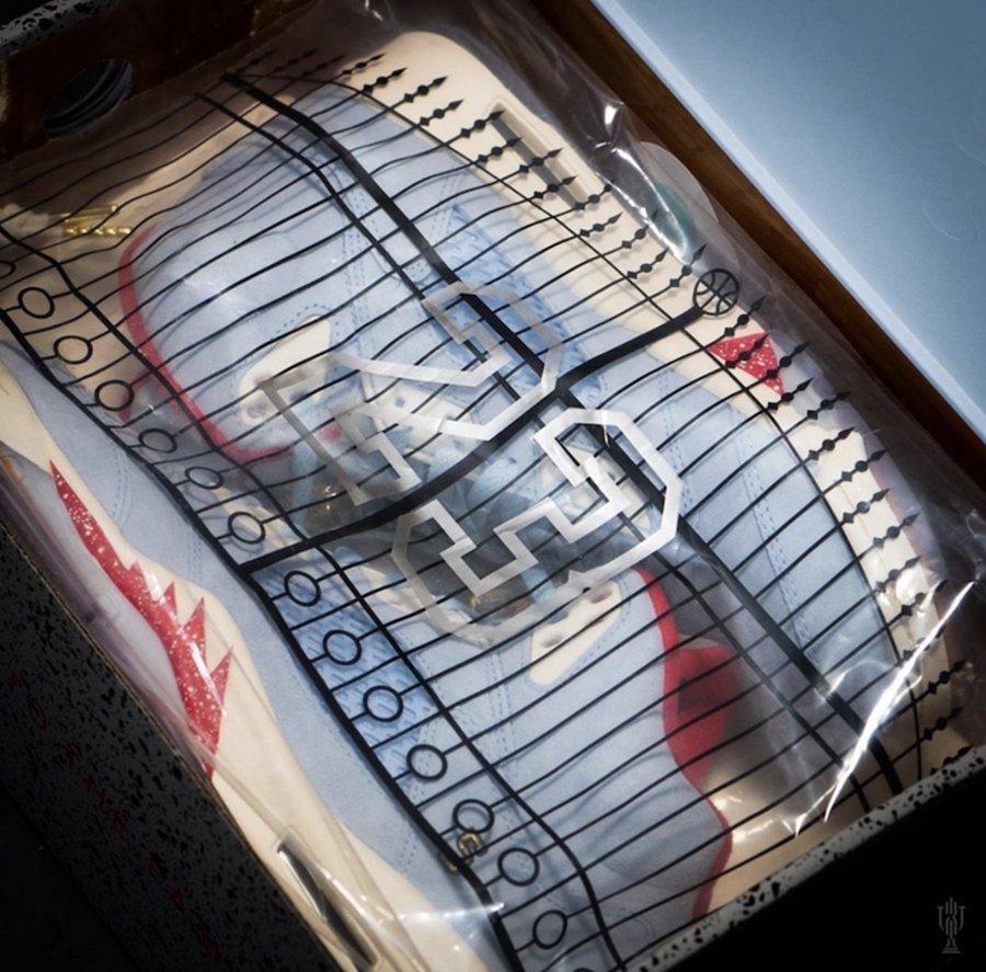 Air Jordan 5,Nike,发售  全新亲友限定曝光!陈冠希亲晒超限量 Trophy Room x AJ5