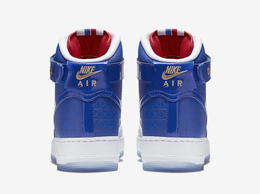 Nike,Air Force 1 High,发售,CI988  三角暗纹皮革材质!全新 Air Force 1 High 下月发售