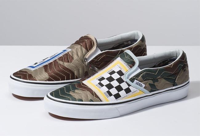 Vans,Slip-On,发售  特殊缝纫工艺设计!全新 Vans Slip-On 现已海外发售