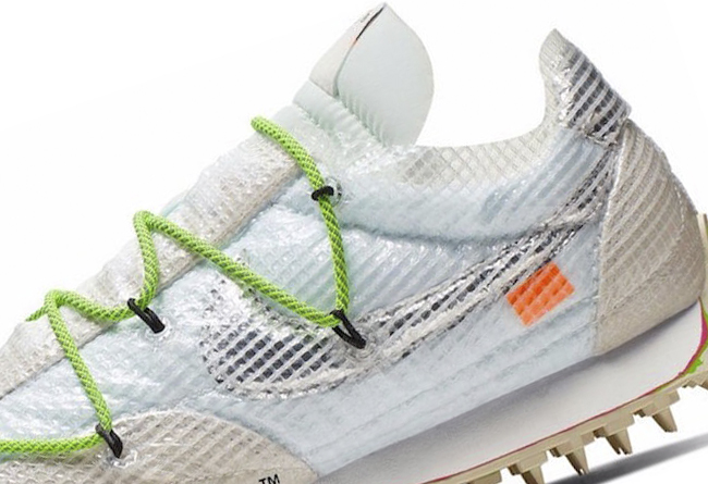OFF-WHITE,NIke,Waffle Racer  复古又猎奇!OFF-WHITE x Nike 全新鞋型实物曝光