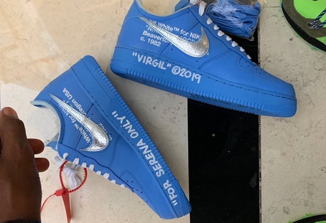 OFF-WHITE,Nike,Air Force 1,AF1  OFF-WHITE x Air Force 1 下月发售!联名新系列即将到来?