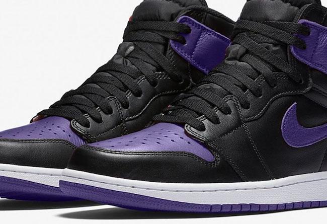 Air Jordan 1,AJ1,,Court Purple  黑紫 Air Jordan 1 又来了!想要入手还得再等等!