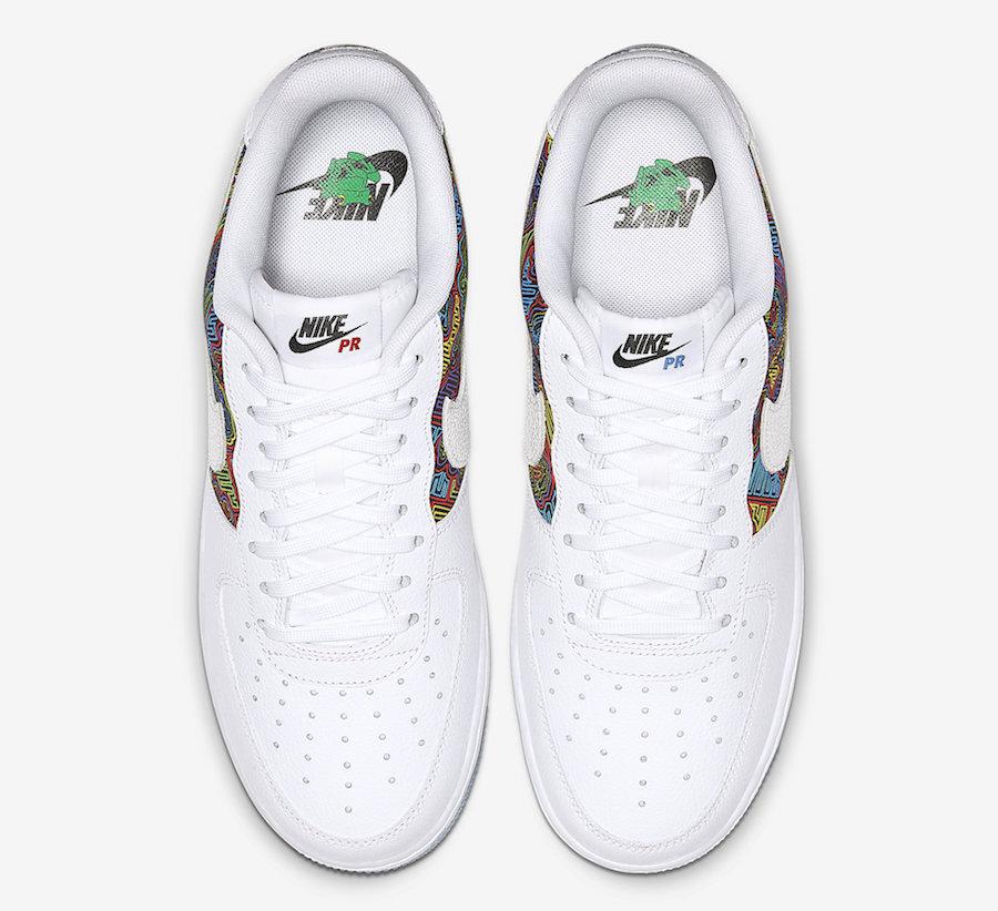 Air Force 1,AF1,Nike  图案搞出乌龙!波多黎各 Air Force 1 发售取消
