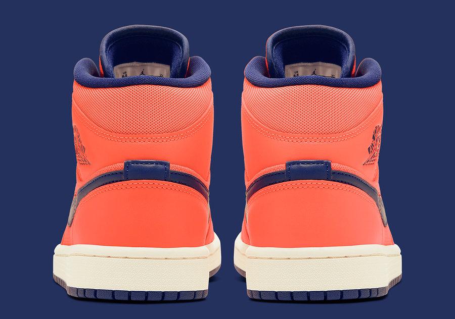 Air Jordan 1 Mid,AJ1 mid,发售,CD  人见人爱的珊瑚橙!Air Jordan 1 Mid 新配色即将发售