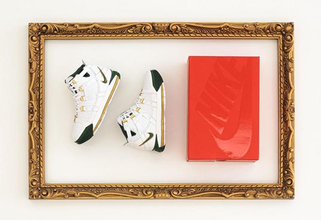 发售,LeBron,Nike  曾经的亲友限定!詹皇高中母校配色 LeBron 3 美图欣赏