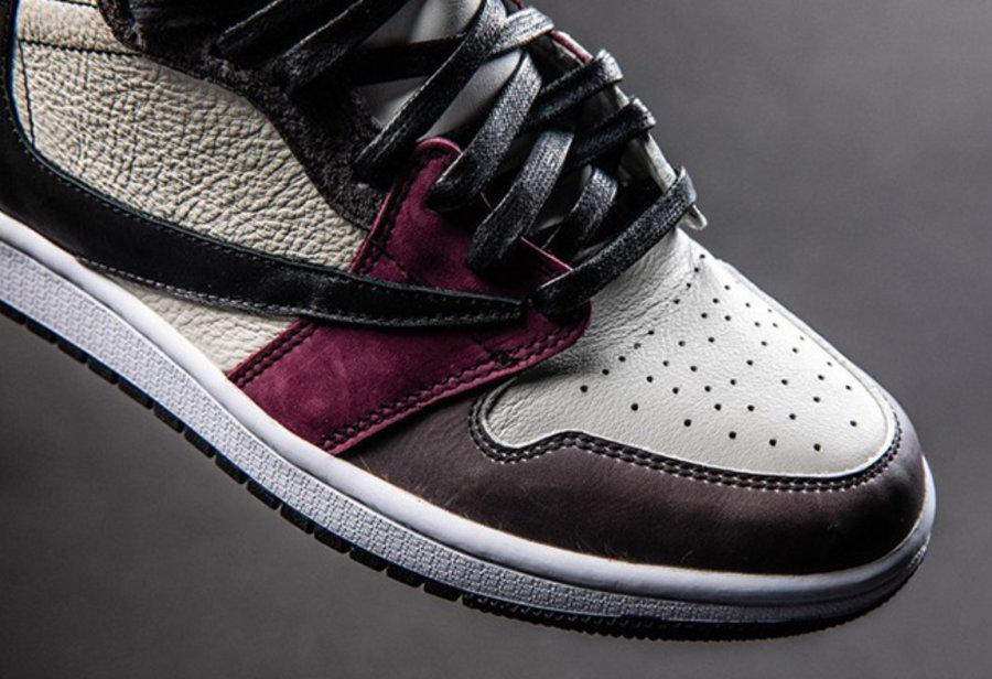 Nike,Air Jordan 1,定制  你没见过的倒钩!Travis Scott x Air Jordan 1 还能这么玩