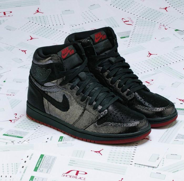 "Air Jordan 1 High OG,AJ1,WMNS,  超酷金属质感!玫瑰金 Air Jordan 1 ""Fearless"" 实物首次曝光!"
