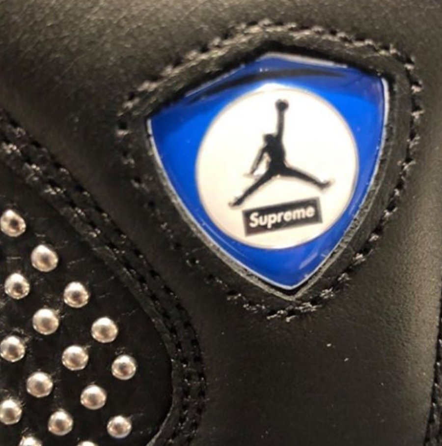 "Supreme,Air Jordan 14,AJ14,上脚  上脚图终于来了!今夏这双 Supreme x AJ14 会 ""真香"" 吗?"