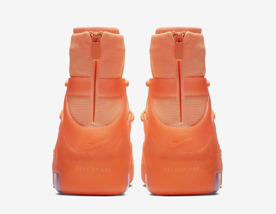 Nike,Fear of God,FOG,发售,AR4237  货量稀少!两款全新配色 Air Fear of God 1 即将发售!