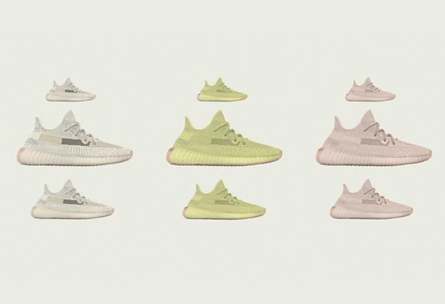 Yeezy 350 V2,adidas,发售  又是一波地区限定!3 款 Yeezy 350 V2 新品下月发售