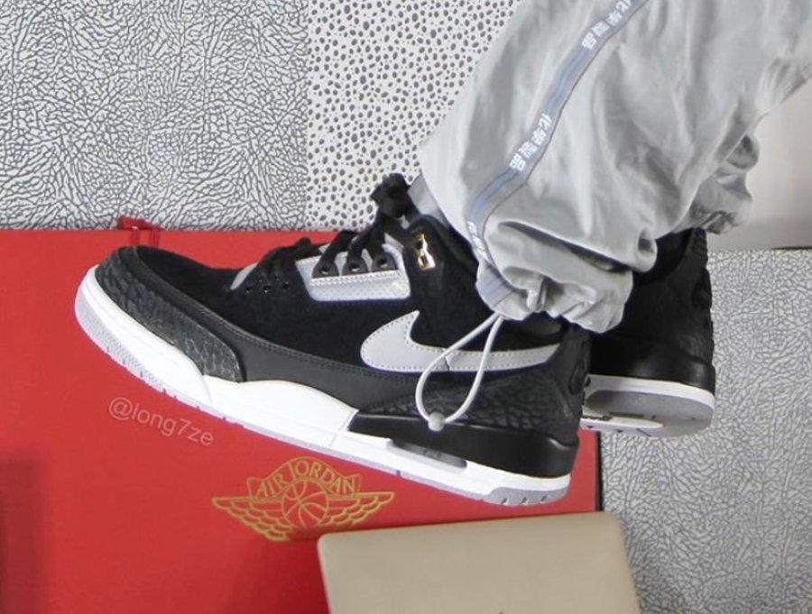 Air Jordan 3,AJ3,发售,CK4348-007  金扣 + 3M 钩子!全新配色 Air Jordan 3 Tinker 你打几分?