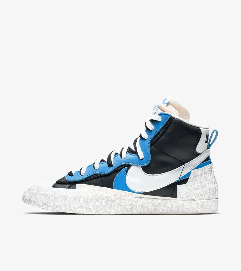 Nike,Sacai,Shox R4,Blazer Mid.  Nike 官网 Sacai + 内马尔发售链接释出!都将于周四发售!