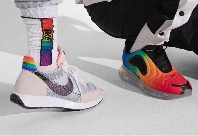 Nike,Air Max 720,Air Max 90,Pe  亮眼的彩虹装扮!Nike 2019 BETRUE 系列上脚图释出!
