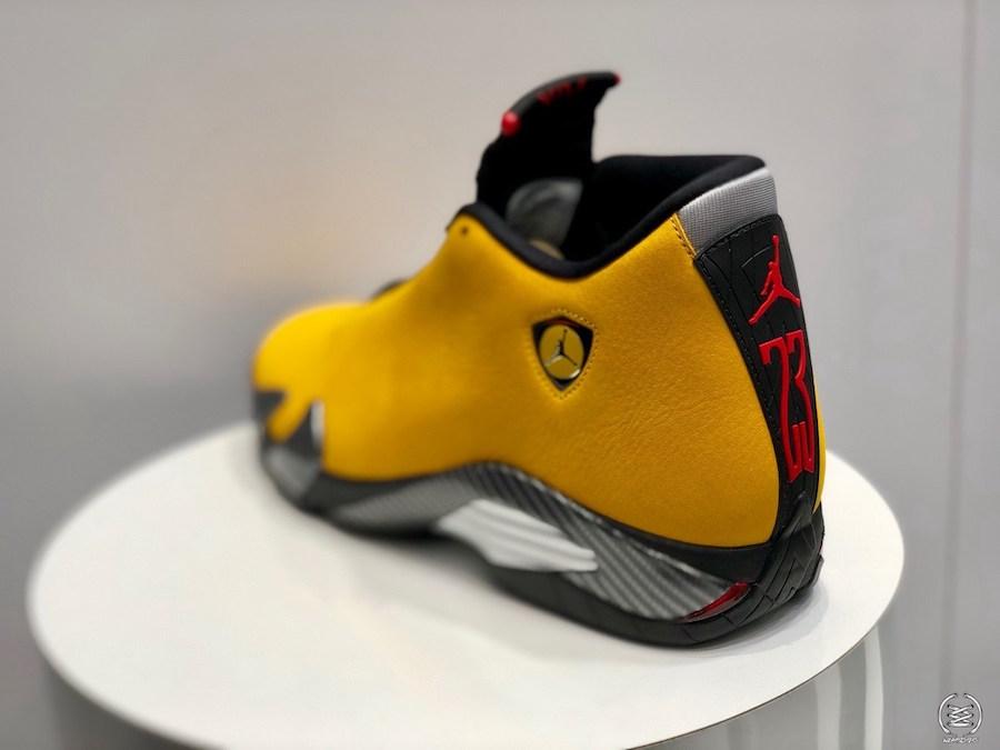 AJ14,Air Jordan 14,发售,BQ3685-7  高人气法拉利推出反转配色!全新 Air Jordan 14 下月发售