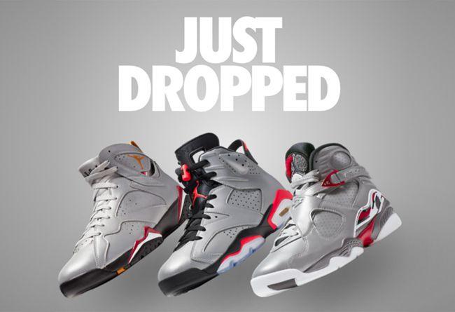Air Jordan 6,Air Jordan 7,Air  高于原价不少!3M 反光 Air Jordan 套装海外突袭发售!