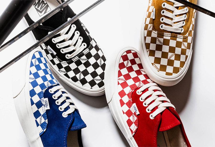 Vans,Vault,发售  大家都爱的棋盘格来了!四色 Vans Vault 现已发售!
