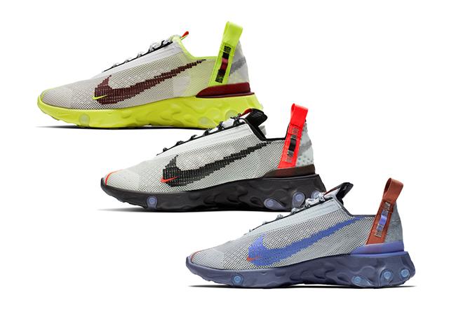 Nike,React ISPA,CT2692-400,CT  炫酷机能跑鞋!三双 Nike React ISPA 即将发售!