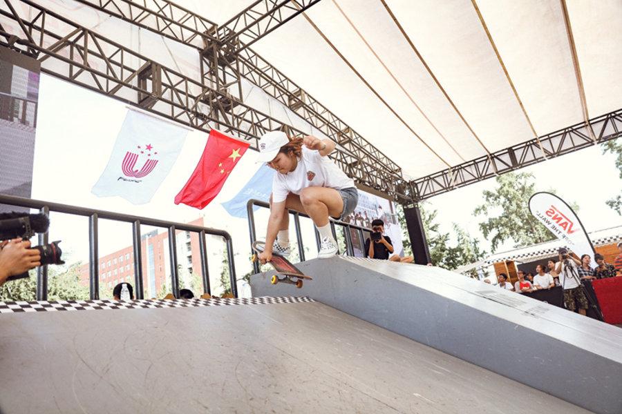 Vans  高校滑手齐聚京城!首届 Vans 大学生滑板巡回赛圆满落幕!