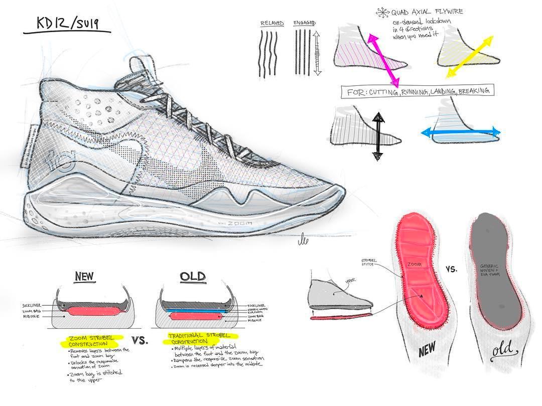 Nike,KD12,发售,AR4229-101  经典酷灰配色 + 豪华配置!全新 KD12 即将发售