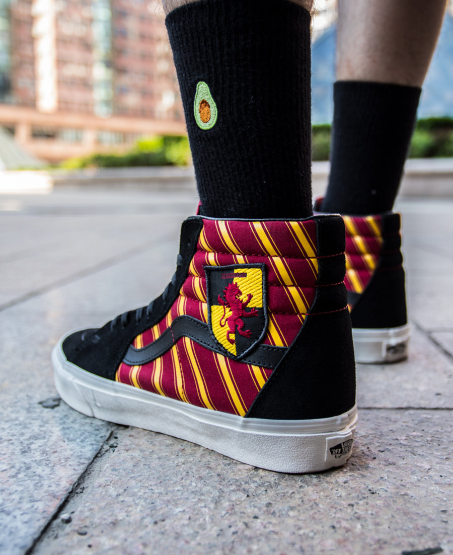 Vans,哈利波特,发售,上脚  哈利波特 x Vans 联名来了!9 双鞋可不太好选!